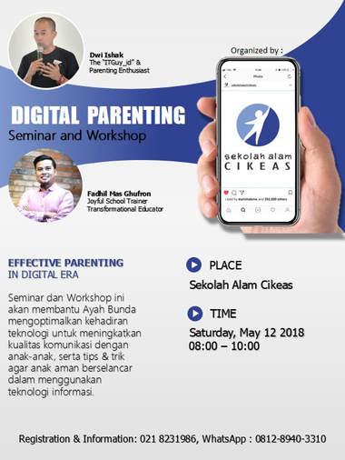 Digital Parenting, Sekolah Alam Cikeas